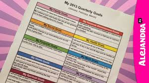 alejandra tv getting organized with goal setting new year new you youtube