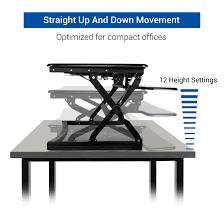 Desk Risers For Standing Desk Flexispot Desktop Workstation 27
