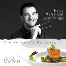 peugeot cuisine michelin chef laurent peugeot has arrived from chef laurent
