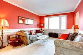 finding the perfect paint color for your living room red painting