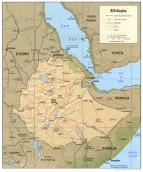 Ancient Map Of Africa by Atlas Of Ethiopia Wikimedia Commons