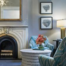 Grey And Turquoise Living Room Ideas by Chic Gray U0026 Turquoise Blue Living Room Design With Gray Blue Walls