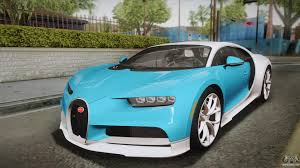 bugatti chiron 2017 bugatti chiron 2017 for gta san andreas