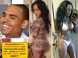 brags about sleeping with chris brown the 1st day she met him