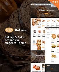 bakerix delicious bakery magento 2 theme