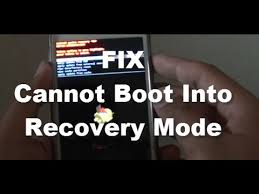android boot into recovery samsung galaxy s5 fix cannot boot into recovery mode android