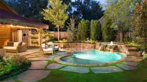 Backyard Pool Landscape Ideas Photo Of Small Backyard With Pool Landscaping Ideas 15 Amazing
