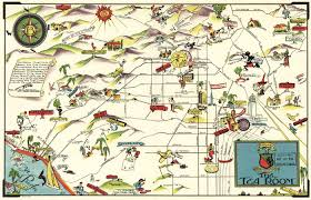 Downtown Los Angeles Map by Noirish Los Angeles Page 321 Skyscraperpage Forum