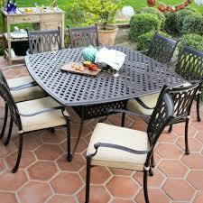 42 Patio Table Patio Ideas Patio Furniture Aluminum Vs Cast Aluminum 48 Round