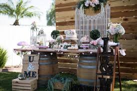Backyard Sweet 16 Party Ideas Kara U0027s Party Ideas Boho Rustic Chic Engagement Party Kara U0027s
