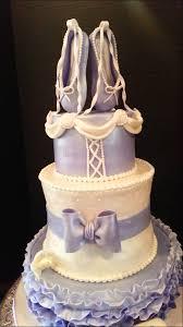 ballerina baby shower cake ballerina themed baby shower cake