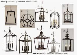 Lantern Ceiling Light Fixtures Whimsy Friday Finds Lanterns 200 For The Home