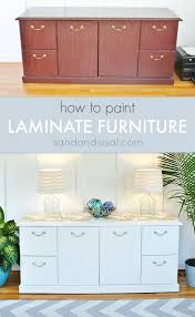 can you chalk paint laminate cabinets how to paint laminate furniture sand and sisal