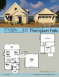 2 story cabin plans 29415 thompson falls this 1 5 story modern cottage cabin plan is
