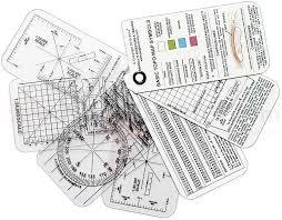 esee knives izula gear compass cards 7 card set knifecenter