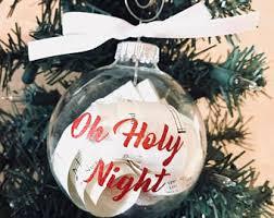 Sheet Music Christmas Tree Ornament by Sheet Music Ornament Etsy
