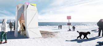 toronto s winter stations turn lifeguard posts into magical frozen
