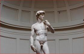 visiting david michelangelo sculpture in galleria dell u0027accademia