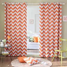 Chevron Pattern Curtain Panels Home Decoration U0026 Accessories Best Curtains Treatment Design For