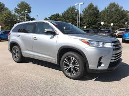 toyota sport utility vehicles new 2017 toyota highlander le 4d sport utility in mcdonough