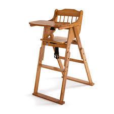 Toddler Wooden Chair Infant Children Wooden Feeding Chair Stool Baby High Toddler