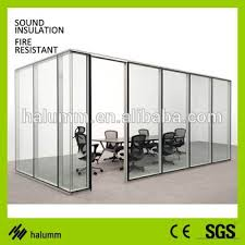 Glass Room Divider Soundproof Dubai Wood Glass Panels Sliding Glass Room Dividers