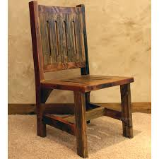 Reclaimed Wood Chairs Reclaimed Wood Chairs Black Mountain Rustic Dining With Regard To