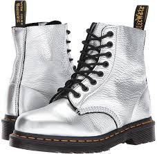 Most Comfortable Military Boots Dr Martens Pascal Metallic Boots Models Wearing Combat Boots