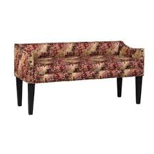 extra long upholstered bench wayfair