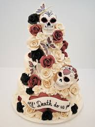 skull wedding cakes sugar skull wedding cake pinteres