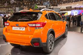 subaru orange crosstrek 2018 subaru crosstrek preview autozaurus