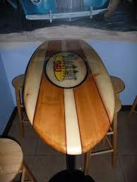 Surfboard Bar Table Derungs Design