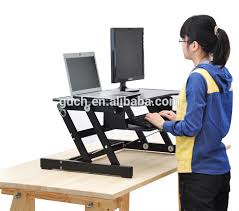Laptop Riser For Desk Portable Wooden Desktop Table Folding Adjustable Laptop Riser