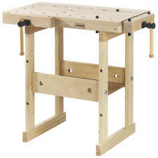 Tool Bench For Garage Wood Work Table Ebay