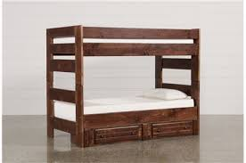 Bunk Bed With Storage Bunk Beds And Loft Beds For Your Kids Room Living Spaces