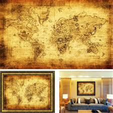 Vintage World Map Popular Flat Vintage World Map Buy Cheap Flat Vintage World Map