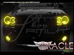 jeep cherokee yellow oracle 08 10 jeep cherokee srt8 led colorshift halo rings head