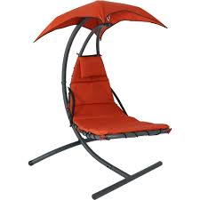 sunnydaze floating chaise lounge chair outdoor furniture