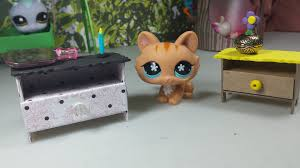 how to make a tiny nightstand bedside dresser easy lps doll diy