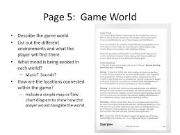 scripting is fun game design document u2013 the 10 pager