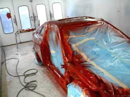 2000 honda civic ex pearl red paint refinish youtube