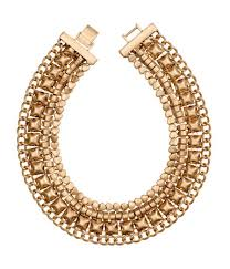 gold necklace statement images H m short gold statement necklace latest wrinkle jpeg