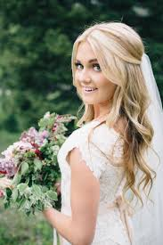 Wedding Hairstyles Half Up Wedding Hair With Veil Features For