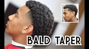 how to taper hair step by step how to bald taper with curls haircut tutorial step by step