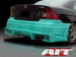 2005 honda civic trunk bmx style rear bumper cover for honda civic 2001 2005 coupe