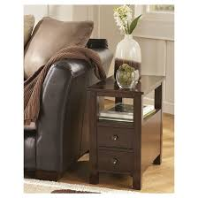 Ashley Porter Nightstand Marion Chair Side End Table Dark Brown Signature Design By