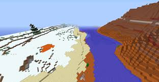Minecraft Usa Map by Biome Blend Fail Mesas Next To Ice Plains Seeds Minecraft