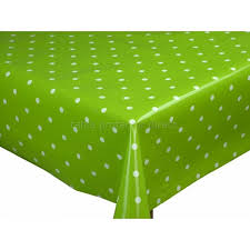 green table cover roll dotty lime oilcloth pvc tablecloths vinyl tablecloths with regard to