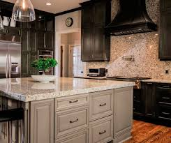 Masco Cabinets Las Vegas by Navy Kitchen With Gold Accents Brittanymakes House