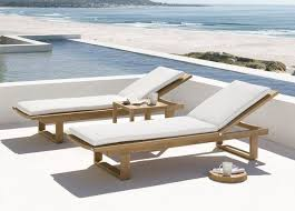Sun Chairs Loungers Design Ideas Wooden Sun Loungers Cushions Ideas White Cushions Outdoor